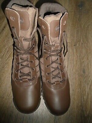 $61.88 • Buy Bates British Military Issue Brown Patrol Boots Size 13w Wide Fit New