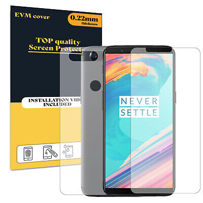 AU10.96 • Buy Screen Protector For OnePlus 5T Front And Back TPU FILM Cover