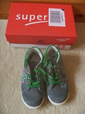 £15 • Buy FAB Superfit Avrile Mini,Baby Boys' Walking Baby Trainers,Grey & Lime Green,SZ 6