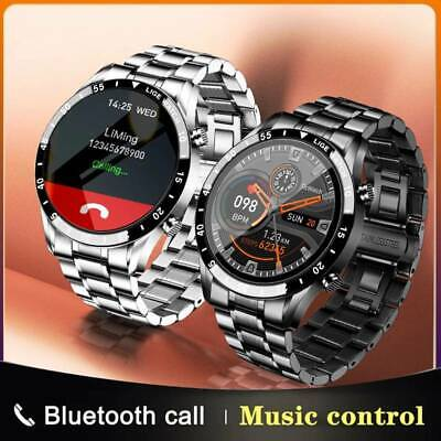 £31.99 • Buy Luxury Charms Mens Smart Watch Heart Rate Monitor Fitness Tracker Bracelet Gift