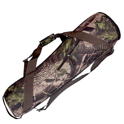 £28.99 • Buy Camouflage Padded 800mm Camera Tripod Carrying Bag Travel Case 31  For Manfrotto