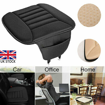 £15.10 • Buy Memory Foam Car Front Seat Cover Mat Breathable Chair Soft Cushion Pad Protector