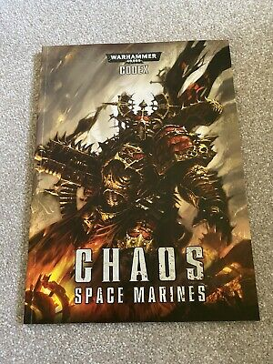 £5 • Buy Codex Chaos Space Marines Warhammer 40k 6th Edition Mint Condition