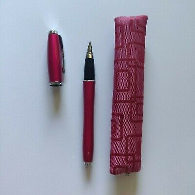 £13.99 • Buy Pink Parker Fountain Pen And Case