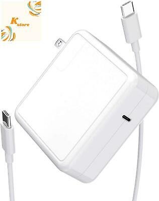 $51.99 • Buy Mac Book Pro Charger USB C Power Adapter 61W, PD Mac Book Air Charger, Compatibl