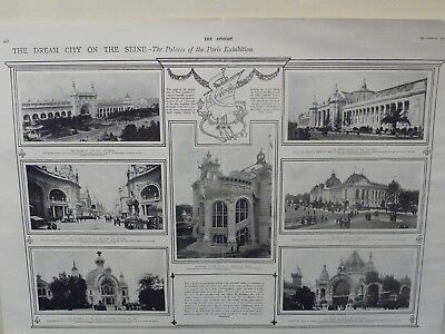 £8 • Buy The Sphere 1900 The Palaces Of The Paris Exhibition Print