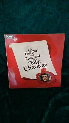 £14.99 • Buy Jake Thackray - The Last Will And Testament Of Jake Thackray - Vinyl LP EX COND