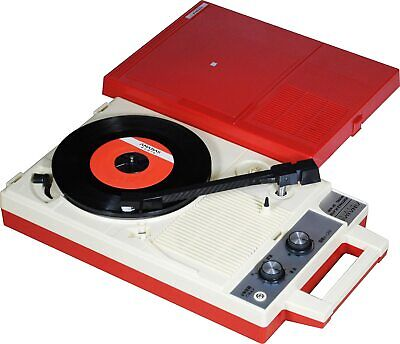 AU330.81 • Buy ANABAS Audio Portable Record Player GP-N3R Red White NEW From Japan