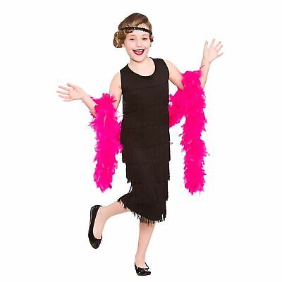 £6.99 • Buy Girls Charleston Flapper Fancy Dress Up Party Costume Halloween Child Outfit New