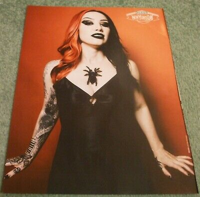 £2.99 • Buy Kerrang! - Ash Costello NY Day - Ghost - Double Sided Poster - Rare - P&P Free
