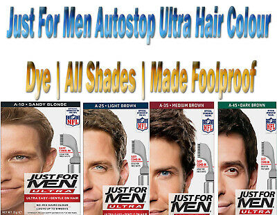 £9.69 • Buy Just For Men Autostop Ultra Hair Colour Dye   All Shades   Made Foolproof