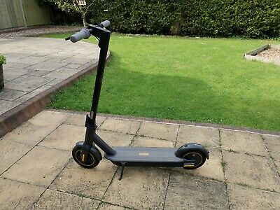 £350 • Buy Segway Ninebot Max G30 Electric Scooter - Black