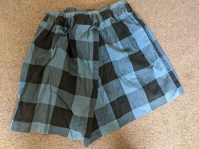 £1.30 • Buy Cheap Monday Urban Outfitters Checked Wrap Skirt Size S 100% Cotton
