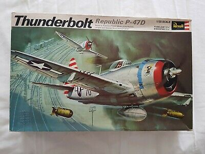 £50 • Buy Revell Thunderbolt Republic P-47D 1:32  With Resin Parts, Original Sealed...
