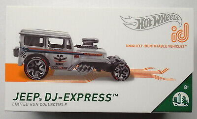 $8.99 • Buy Hot Wheels Jeep DJ-Express Mail Truck ID Car Limited Run Collectible New In Pack
