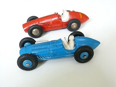 £11 • Buy 2 French Dinky 23 Racing Cars, 23J Ferrari And 23H Talbot Lago