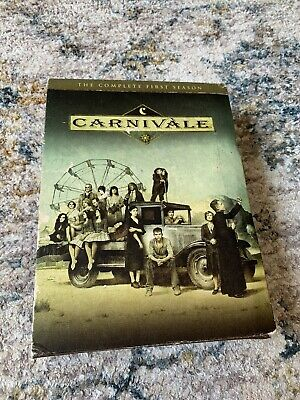 £5.66 • Buy Carnivale - The Complete First Season (DVD, 2004, 6-Disc Set)