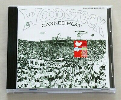 £16.99 • Buy CANNED HEAT ~ Live At WOODSTOCK Festival 16-08-69 Great Recordings ! RARE CD !