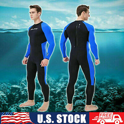 $25.49 • Buy WetSuit Body Surf Diving Suit Stretch Swim Snorkeling Full Super Ultra-thin F1