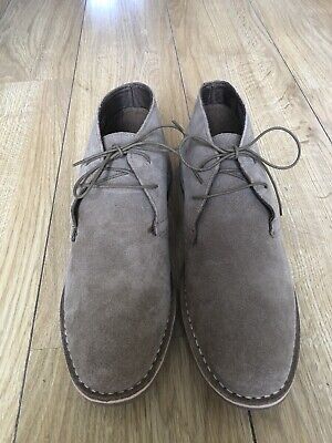 £15 • Buy Red Herring Mens Lace Up Desert Boots Stevie 2 Taupe (size 11) Brand New In Box
