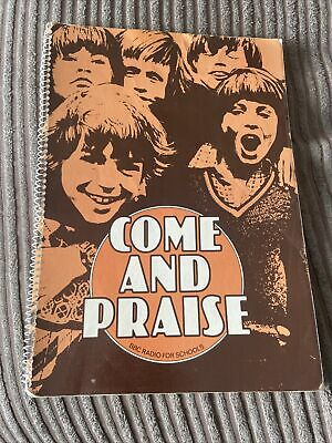 £30 • Buy Come And Praise- Hymn Book-72 Hymns Included-piano And Vocal-score-vintage-1978