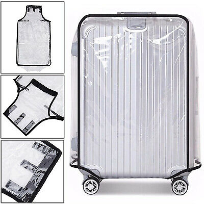£4.29 • Buy Luggage Cover Suitcase Protector Transparent Elastic PVC 20  22  24  26  28 Inch