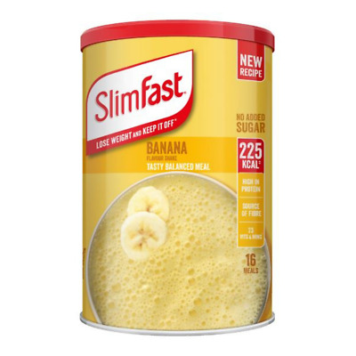 £13.99 • Buy Slim Fast Banana Flavour Shake Powder 584g - 16 Servings Meal Replacement