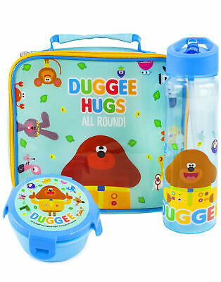 £19.99 • Buy Hey Duggee Lunch Box 3 Piece Set Kids Bag, Water Bottle & Snack Pot One Size