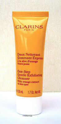 £7.99 • Buy Clarins One Step Gentle Exfoliating Cleanser With Orange Extract 50ml Sealed New