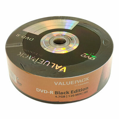 £7.35 • Buy Traxdata DVD-R 8X 4.7GB Recordable Blank Discs Value Pack 25 50 100 UK