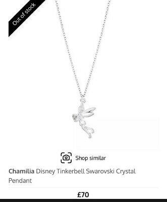 £20 • Buy Chamilia Disney Tinkerbell Necklace Brand New In Box