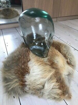 £49 • Buy Vintage Golden Island Fox Fur Stole / Collar, Thick, Fluffy And Soft