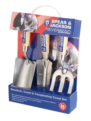 £23.51 • Buy Spear & Jackson 3056GS/12 Neverbend Stainless 3 Piece Gift Set