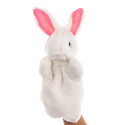 £5.45 • Buy Animal Rabbit Hand Glove Puppet Soft Plush Puppets Doll Childrens Play Toy LT