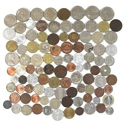 £3.99 • Buy A Very Nice Job Lot / Collection Of 100 X Mixed Foreign / World Coins (D)