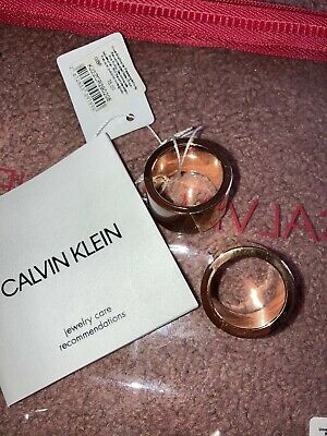 £20 • Buy Brown And Bronze Calvin Klein Chunky Rings BNWT