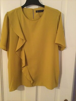 £5 • Buy Marks And Spencer Mustard Top, 16 BNWOT