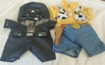£14.16 • Buy Build A Bear Workshop Toy Story Woody And Darth Vader Outfits