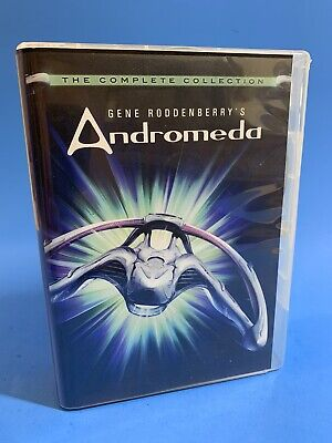 £23.70 • Buy ANDROMEDA The Complete Collection Gene Roddenberry 24 DVD Disc Set USPS PRIORITY