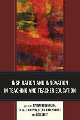 £40.79 • Buy Inspiration And Innovation In Teaching And Teacher Education Book The Cheap Fast
