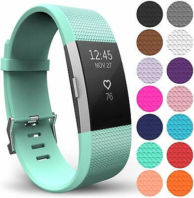 AU10.99 • Buy Fit Fitbit Charge 2 Strap Replacement Silicone Wristband Band Watch Wrist Straps