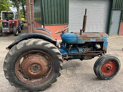 £976 • Buy Fordson Dexta Livedrive Tractor. Heavy Use, Runs Well, Restoration Project.