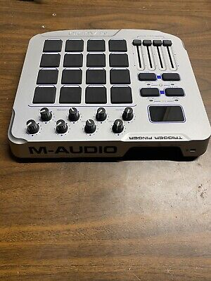 $50 • Buy Perfect M-Audio Trigger Finger Drum Controller With Charger And Usb Cable Works