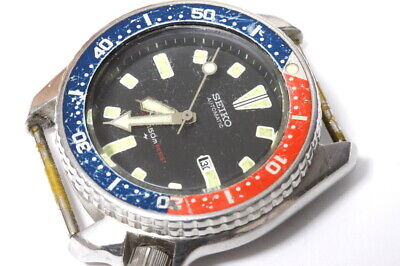 $ CDN70.56 • Buy Seiko Medium Diver 4205-015V Japan A Automatic Watch For Repairs Or Parts -13540