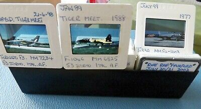 £21 • Buy Military Aircraft Slides X 57 - Italian Af Sp C/s - Please Read Carefully
