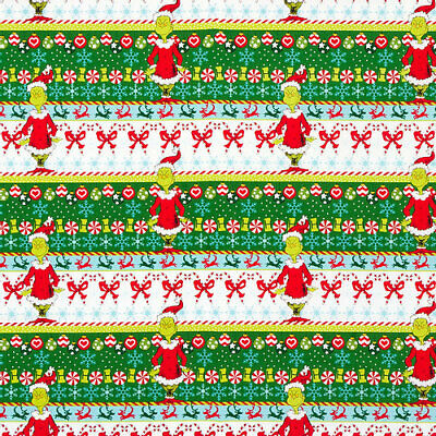 £8.75 • Buy Dr Seuss How The Grinch Stole Christmas - Fabric Material