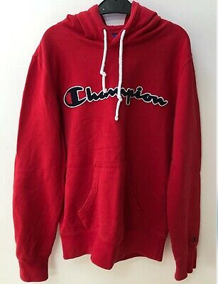 £2.65 • Buy Champion Red Hoodie X-Small In Great Condition