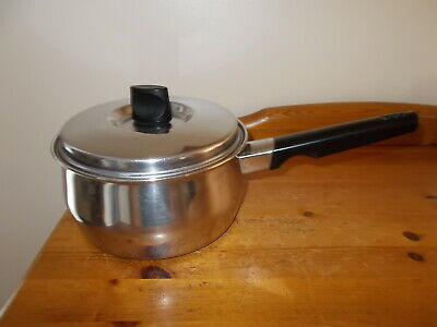 £14.99 • Buy Prestige   Life-time   Stainless Steel Copper  Base 18 Cm Saucepan With Lid