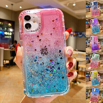 AU11.59 • Buy For IPhone 12 Pro Max 11 XS XR 8 7 Plus Bling Glitter Hybrid Bumper Case Cover