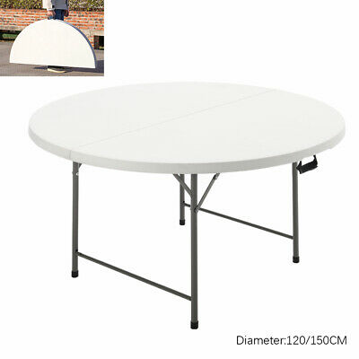 £89.95 • Buy Portable Folding Table Outdoor Garden Picnic Dining Camping BBQ Trestle Table